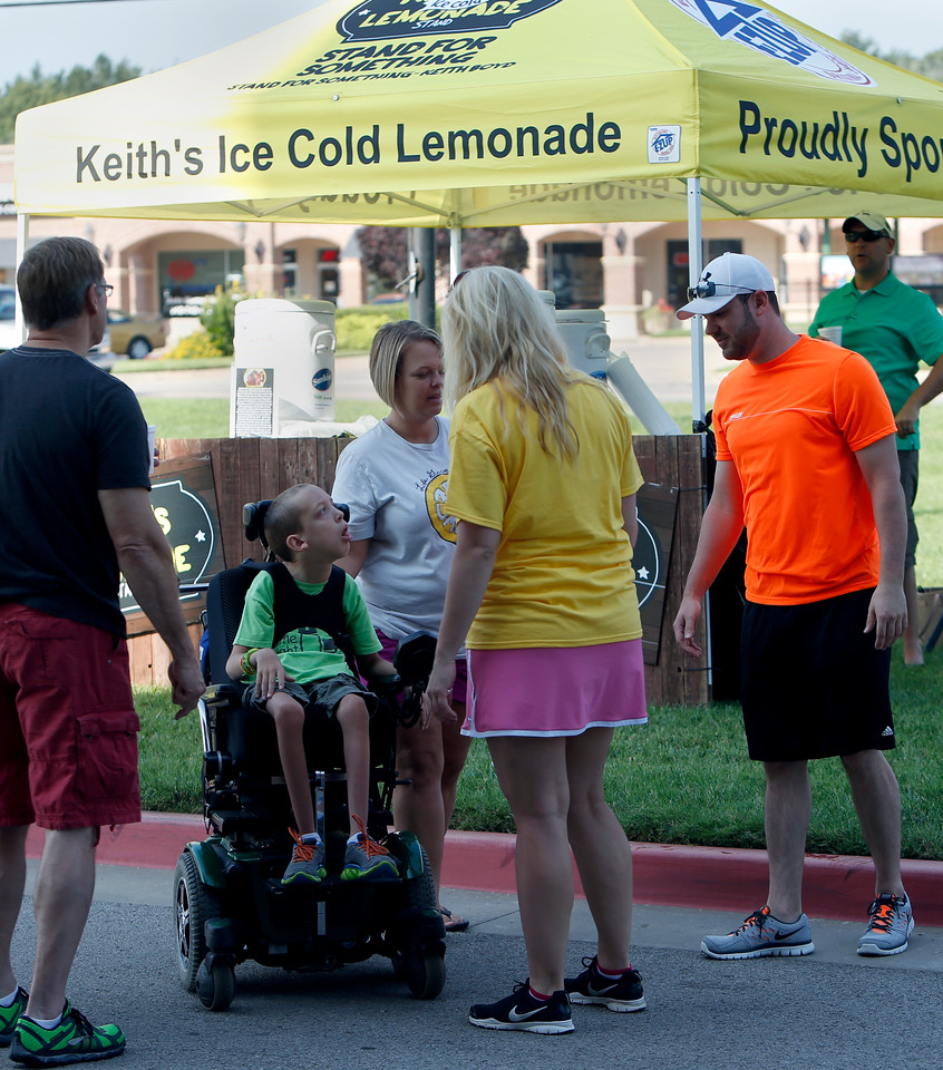 XXX stop by for a glass of Keith's Lemonade.