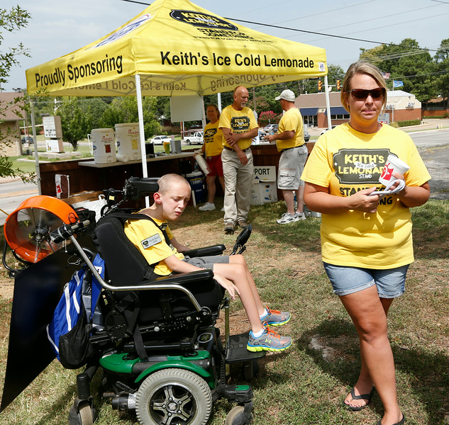 10-year-old entrepreneur Keith Boyd finished out this summer's Keith's Ice Cold Lemonade Stand fundraising efforts Wednesday at Tulsa's Little Lighthouse, provider of educational and therapeutic services to special-needs children and beneficiary of Boyd's project. He will present that nonprofit a $120,000-plus check during a 7 p.m. Friday celebration at Riverwalk Crossing in Jenks. Boyd's family and supporters also will launch a $50,000 Kickstarter campaign Friday to fund the nonprofit startup manufacturer Keith's Ice Cold Beverages. This Tulsa firm intends to sell Keith's Ice Cold Lemonade in bottles and juice boxes at stores across Oklahoma, with the profits going to Boyd's new Tulsa nonprofit benefitting the needy and their support organizations.