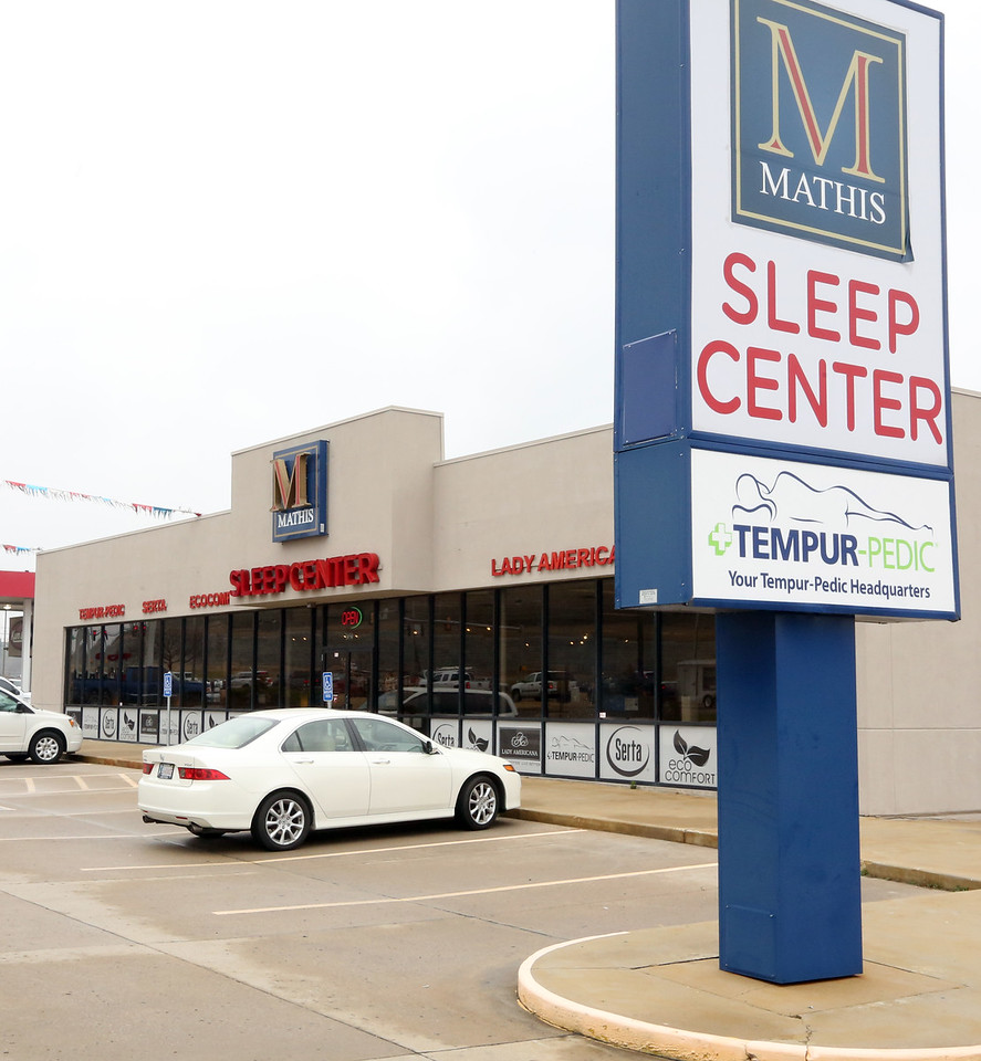 The Mathis Sleep Center in Broken Arrow.