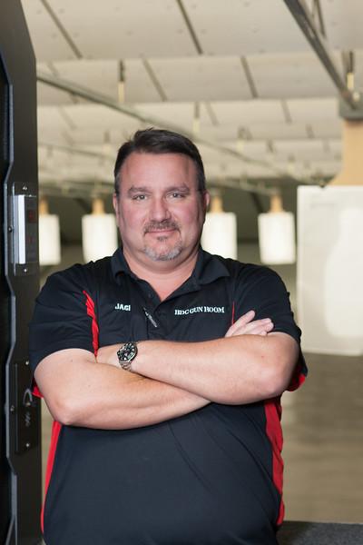 Jack Barrett, owner of BDC Gun Room at 40960 Hardesty Road in Shawnee, OK.