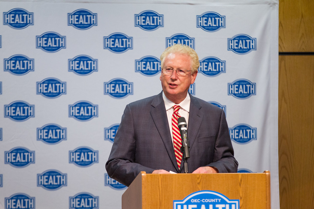 Gary Cox, director of the Oklahoma CIty County Health Department.