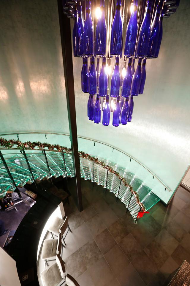 The main lobby of The Wine Loft in Bixby.