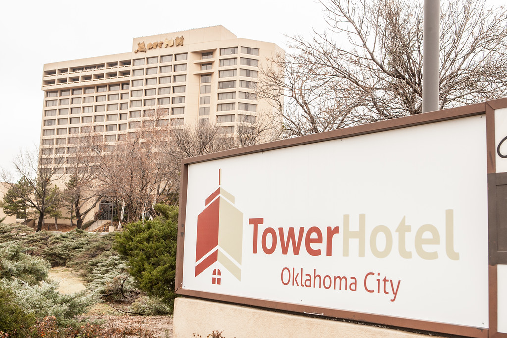 The Tower Hotel on Northwest Expressway in Oklahoma CIty.