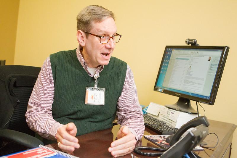 Kenneth Benton, director of resident life at Epworth Villa in Oklahoma CIty.