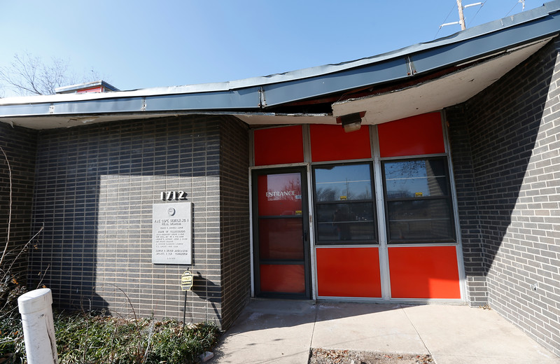 The 2,670sq ft former Tulsa Fire Station at 1712 S Phoenix Ave., goes up for public auction soon.