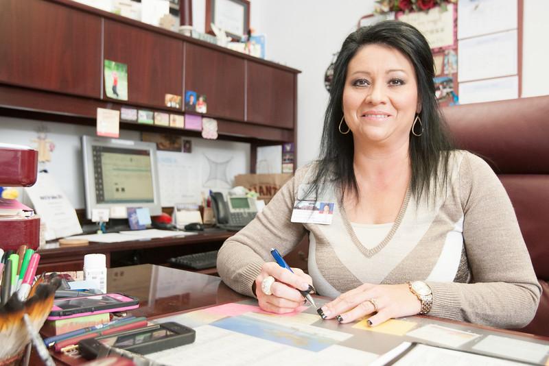 Johnna Walker, Executive Director of the Chickasaw Foundation in Ada, OK.