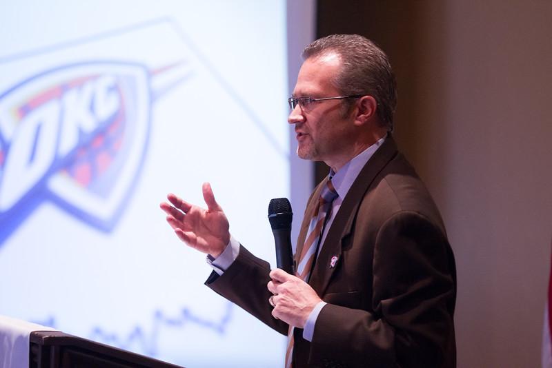 Brian Byrnes, OKC Thunder senior vice president of sales and marketing.