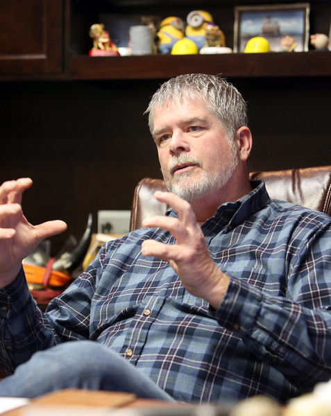 Eddie Miller, CEO of Sapulpa based Bios.