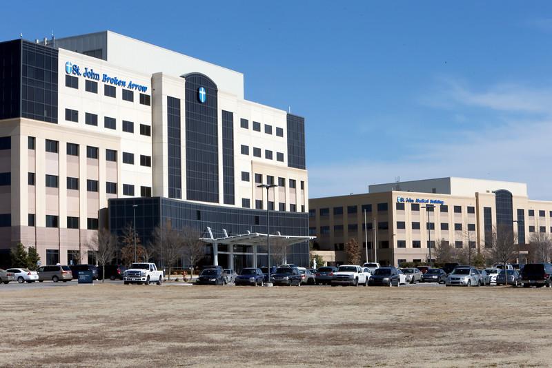 The St. Johns Hospital complex in Broken Arrow.