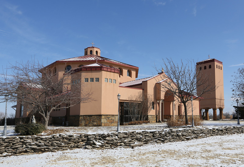 The Saint Therese Catholic Church in Collinsville, Oklahoma.