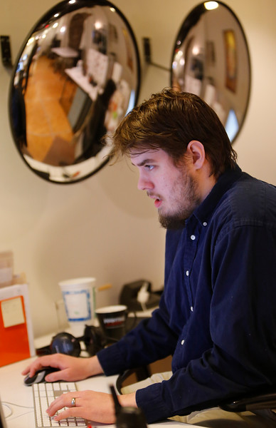 Johnathan Warlick, Director of Interative Media for PDG Creative in Bartlesville.