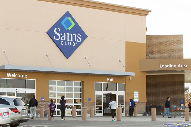 Sam's Club in Edmond, OK.