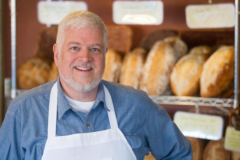 John McBryde, owner of Prairie Thunder Bakery.
