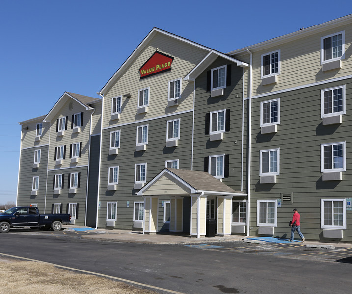 The Value Place hotel in Midtown Tulsa.  TGC Development Group of Wichita, Kansas hopes to start construction this summer of Tulsa's second Value Place hotel.