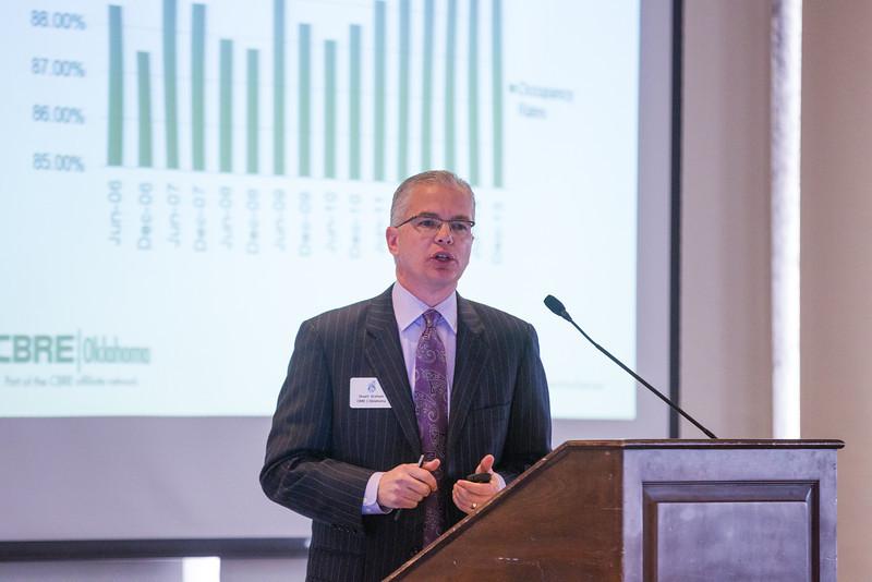 Stuart Graham, vice president of CBRE Oklahoma.