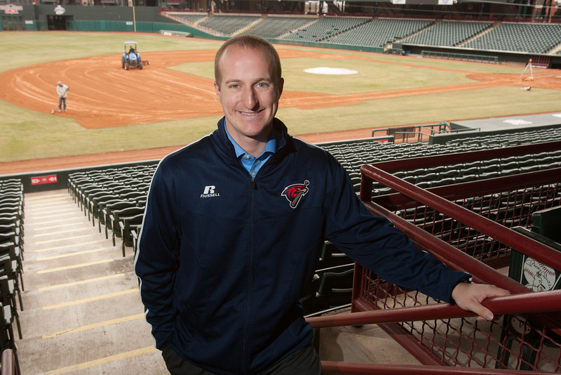 Mitch Stubenhofer, Director of Operations for the Oklahoma CIty Redhawks