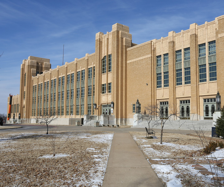 The Will Roger High School in Tulsa.<br /> <br /> ***Scott Carter ill write the cutline for this ******