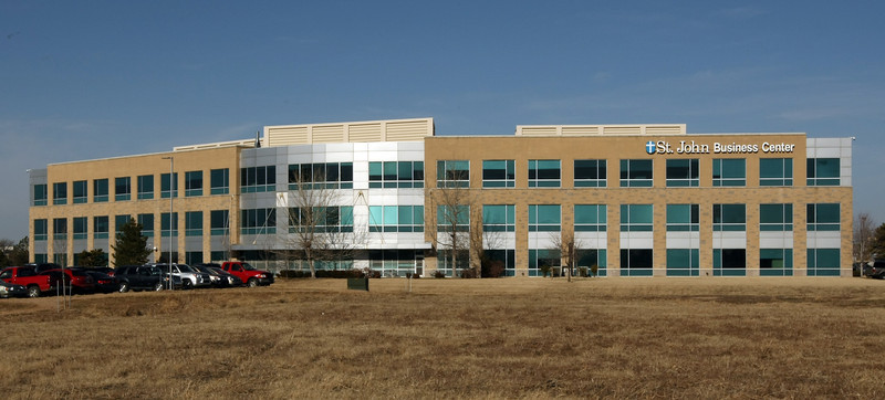 The St. John office building, former HSBC Building, at 4848 S. 129th East Ave. in Tulsa