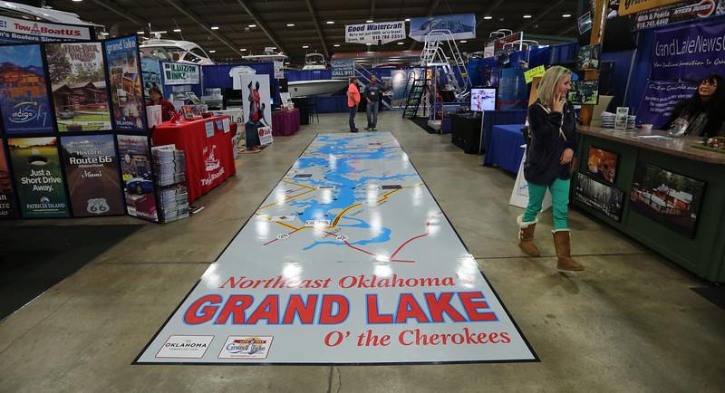 Tulsa Boat Sport & Travel Show.