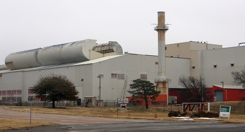 The Ford glass plant in Broken Arrow.