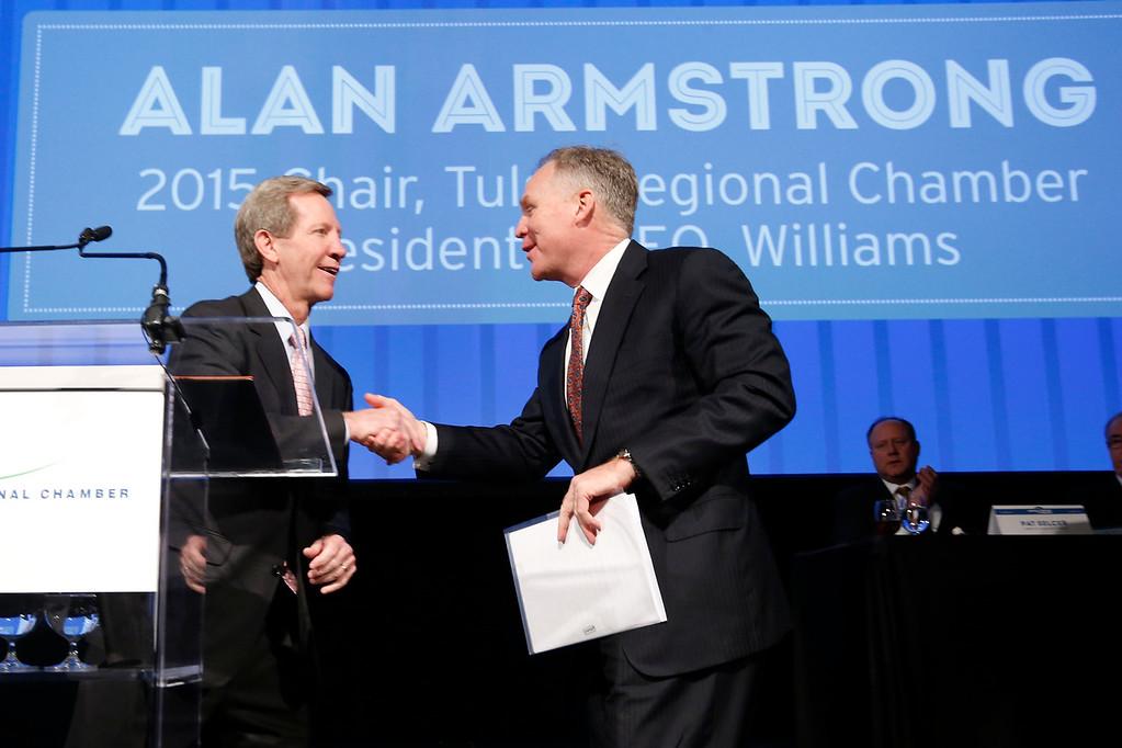 Alan Armstrong - new Chamber Chariman