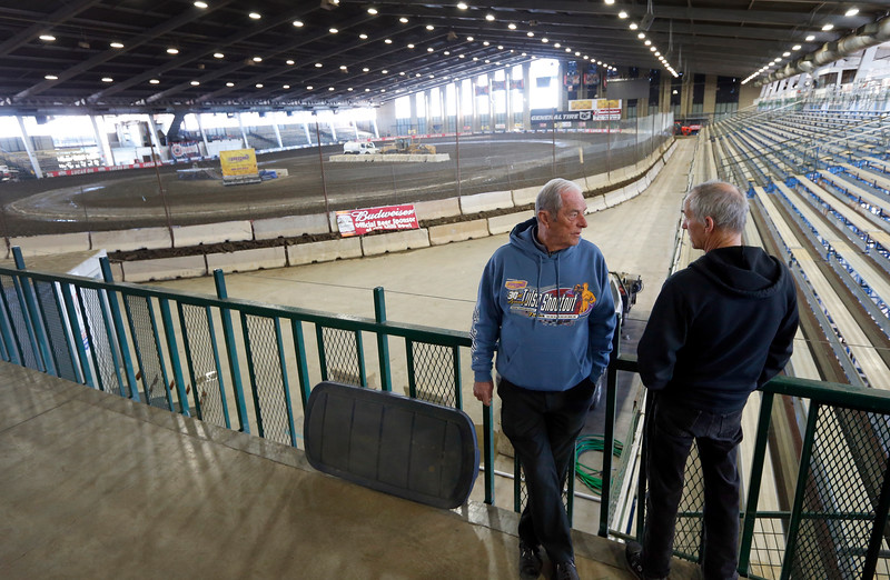 Emmett Hahn and Freddy Harrolle discuss the ongoing preparations for the Tulsa Shootout.