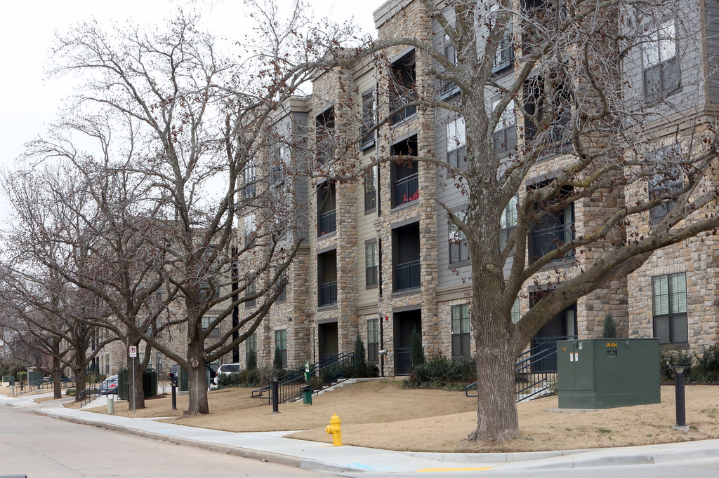The Enclave Apartments in Tulsa.
