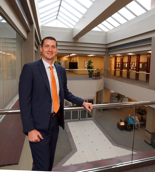 Rhett Stover, President and CEO of the Oklahoma State University Medical Center in downtown Tulsa.