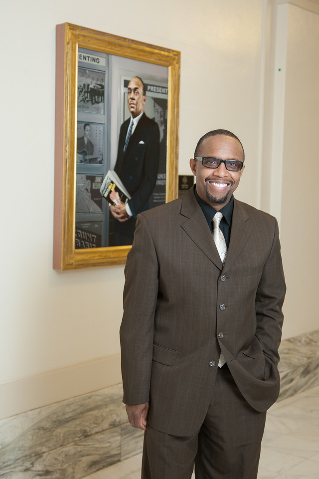 Michael Owens,<br /> Executive director of founder of the Ralph Ellison Foundation.
