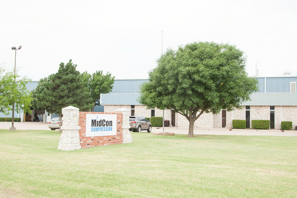 Chesapeak Energy has sold subsidiary MidCon Compression in Oklahoma CIty, OK.