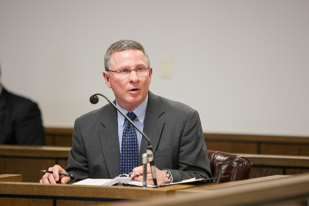 Sutton testifies before the corperation commision about the changes in rates from PSO.