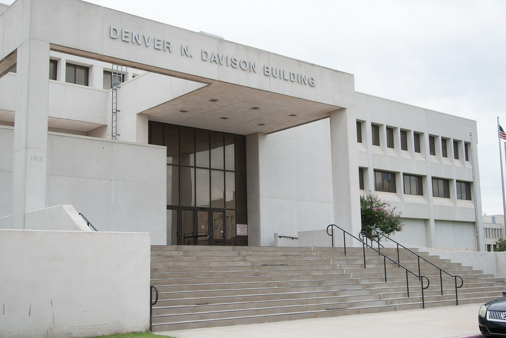 The Denver N Davison Building in Oklahoma City house the out going Worker's Compensation Court and the new Worker's Compensation Commision.