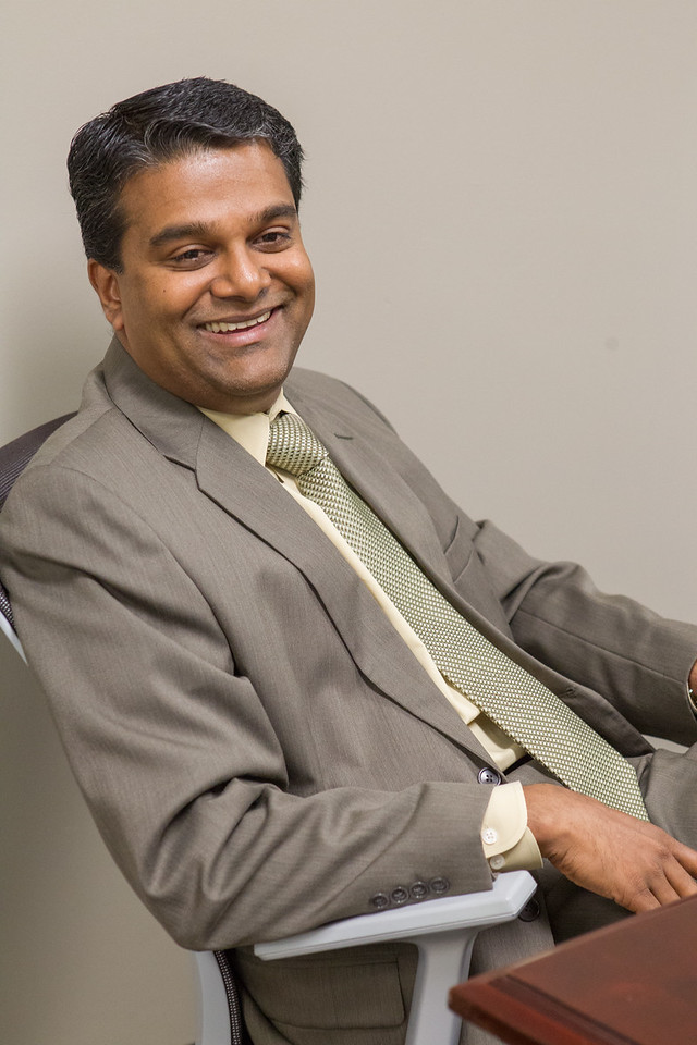 Manu Nair with the Oklahoma Medical Research Foundation in Oklahoma City, OK.