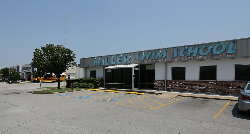 The Tulsa Ice Oilers and Miller Swim School locations on south Mingo Street in Tulsa.