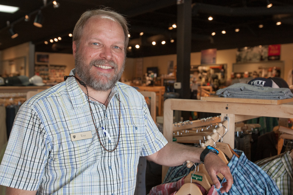Tom Adams, general manager of Backwoods located at NW 122nd and May in Oklahoma CIty, OK.