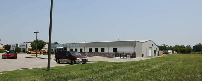 The Tulsa Ice Oilers and Miller Swim School locations on south Mingo Street in Tulsa.