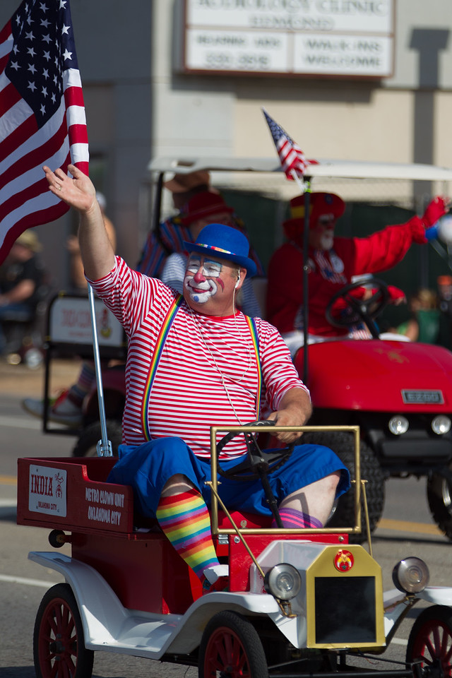 Several Shriners group participated in the Liberty Fest Parade held on July 4th in Edmond, OK.