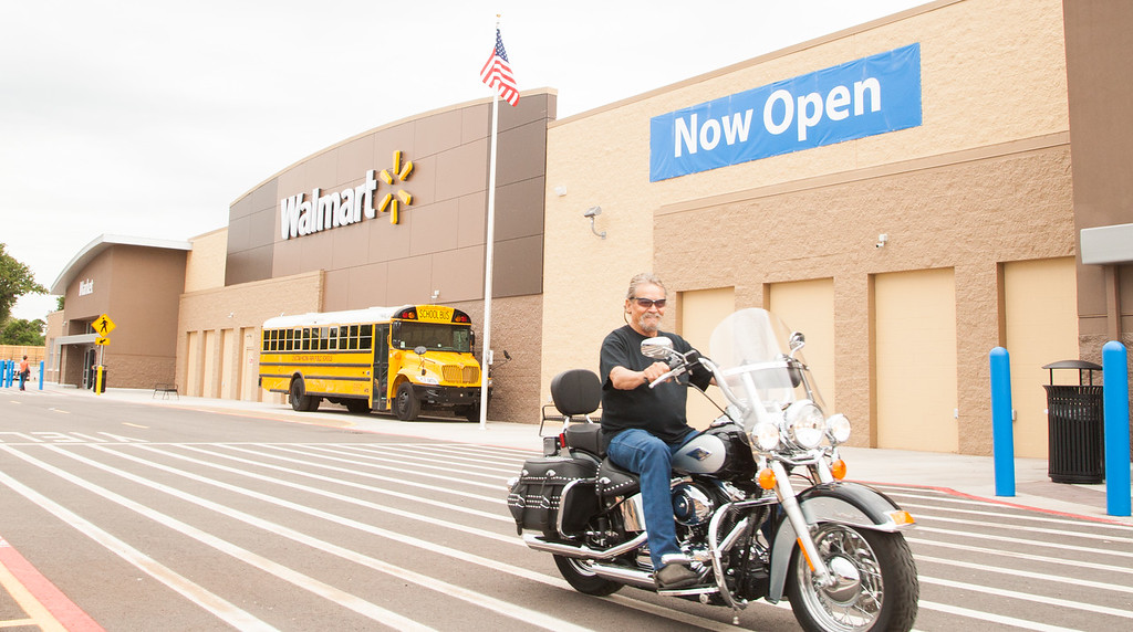 The newly opened Wal-Mart in Choctaw, OK.