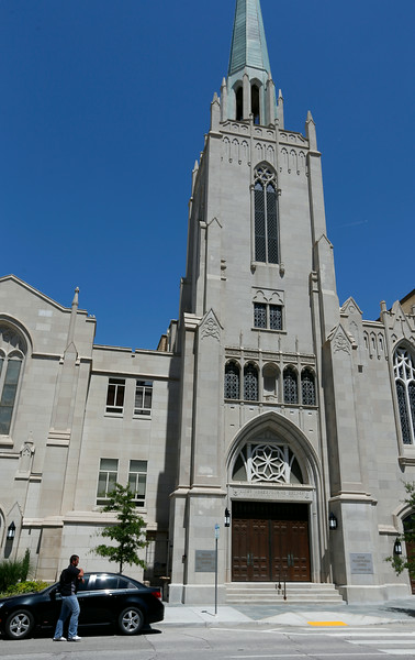 The First Presbyterian Church in downtown Tulsa.