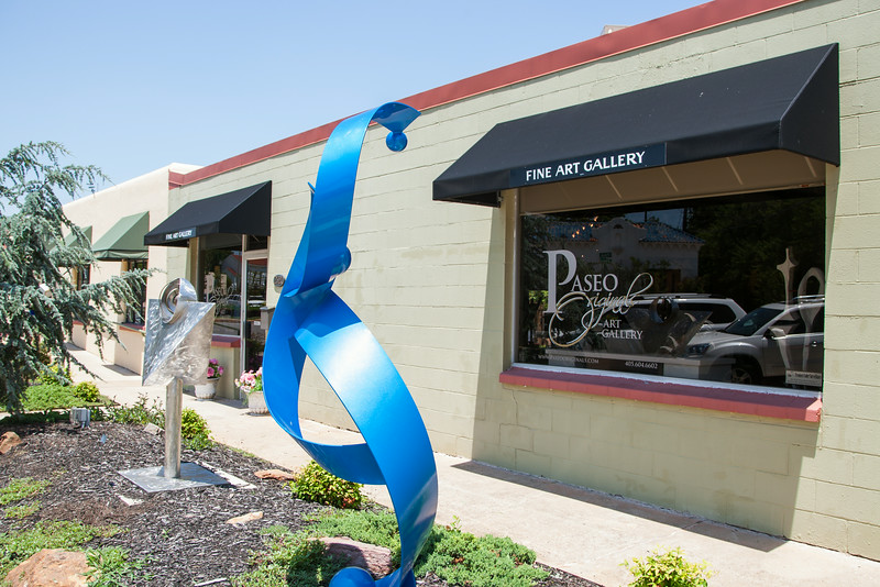 Paseo Original Art Gallery is moving to the Plaza District on NW 16th in Oklahoma CIty, OK.