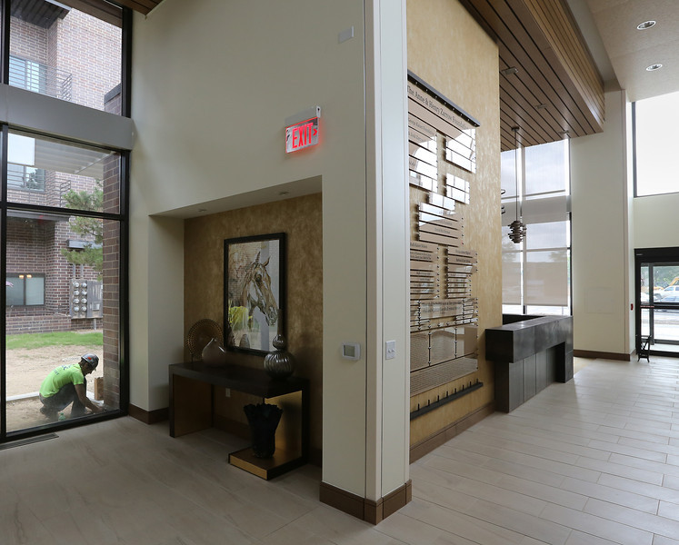 Work is nearing completion on the Tulsa Jewish Retirement & Health Center in south Tulsa.