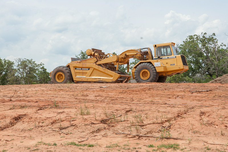 Cronstrution of a new office park name Bradbury Station is underway at 2nd Street and Oakridge Drive in Edmond, OK.