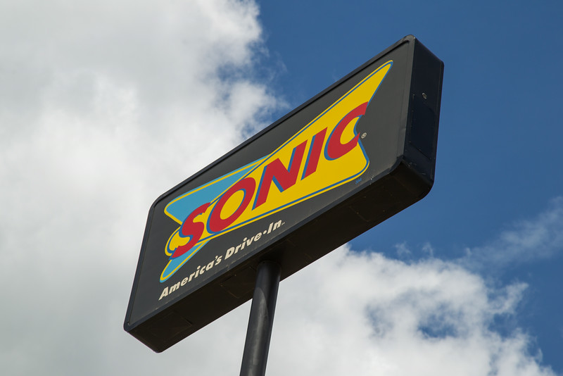 A Sonic resturaunt in Guthrie, OK.