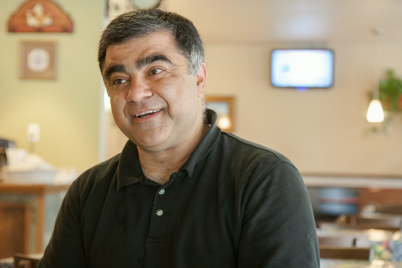 Hassan Daneshmand, owner of Italian Express in downtown Oklahoma CIty, OK.