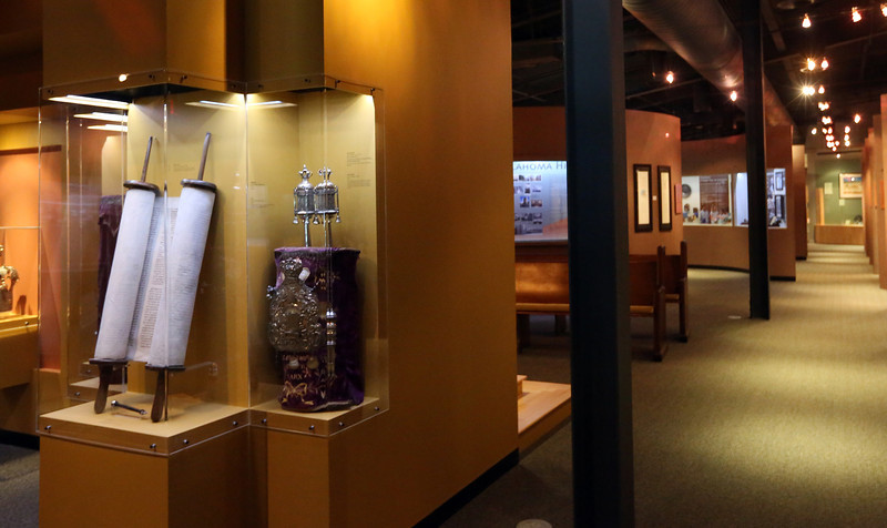 Items on display at the Sherwin Miller Museum of Jewish Art in Tulsa.