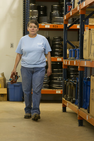 Sheri Hughes works with the City of Stillwater and walks an average of 20,000 steps per day.