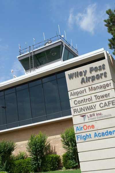 Wiley Post Airport in Oklahoma City, OK.