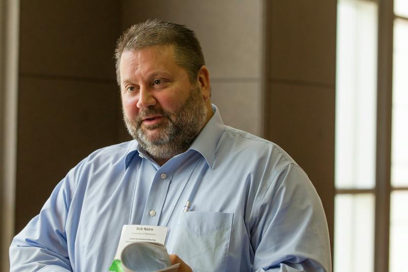 Robert Nairn, Ph.D., proffessor of civil engineering and environmental science at the University of Oklahoma.