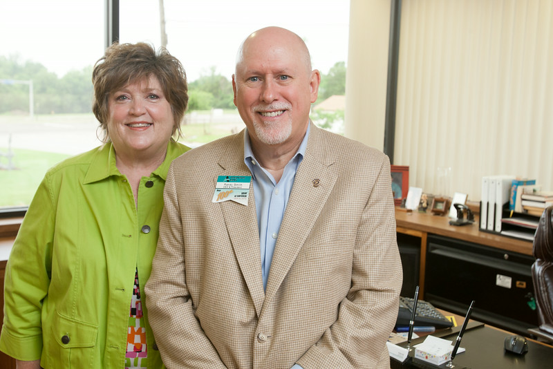 Donna and Randy Smith with Advantage Bank in Midwest City, OK.