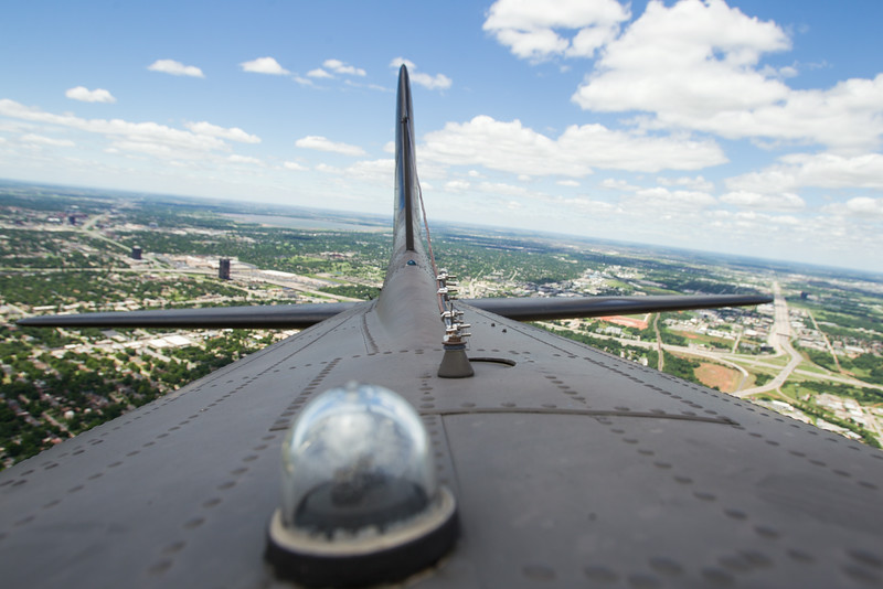 "The B-17 used in the movie Memphis Bell will be giving rides and plane tours this weekend at Wiley Post Airport. A hatch in the radio room allows riders to peek out into open sky. For more information visit <a href=""http://www.libertyfoundation.org"">http://www.libertyfoundation.org</a>"